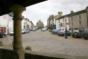 Front Street, Alston from Market Cross