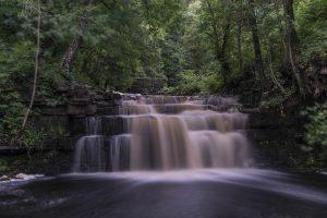 Ashgill Force waterfall, Alston, Cumbria