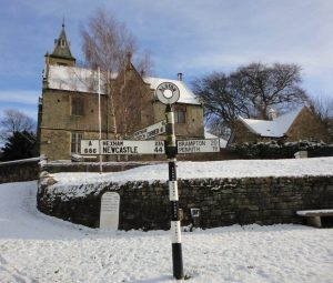 First Snow at Townfoot
